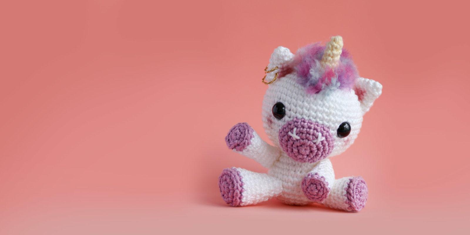 🦄 Como fazer um Unicórnio de crochê - YouTube | 800x1600